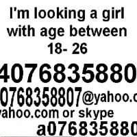 a0768358807@yahoo.com Caut o fata pt casatorie. skype suflettbun
