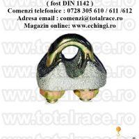 Bride cablu turnate EN 13411-5 Tip A ( fost DIN 1142 )