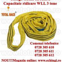 Chinga textila ridicare circulara 3 tone 2 metri