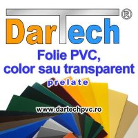 Prelata PVC perdea si folie transparent sau color
